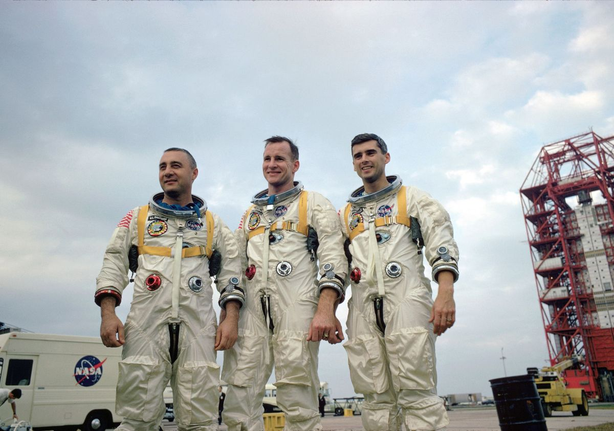 Tragedy dans l'Apollo 1