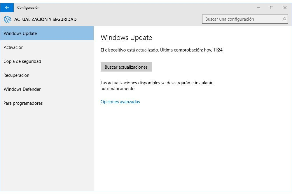 Usa e configura Windows Update in Windows 10