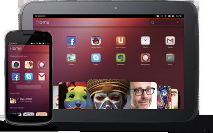 Ubuntu Touch Operativsystemet for åpen kilde for tabletter