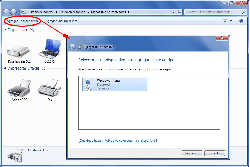 Usa Bluetooth in Windows 7 per inviare e ricevere file
