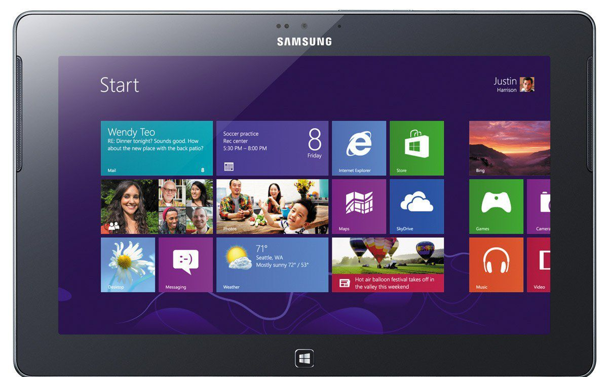 Windows RT, verze tabletu Windows 8